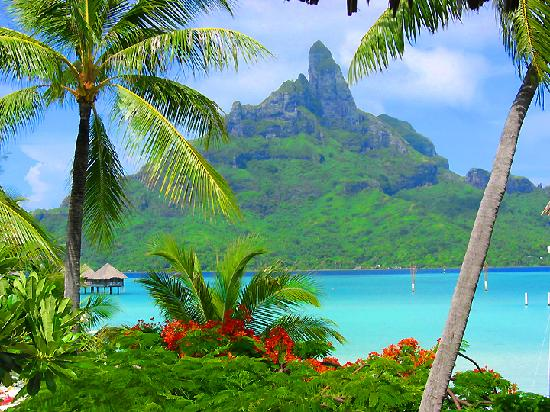 3.Bora Bora, Society Islands of French Polynesia