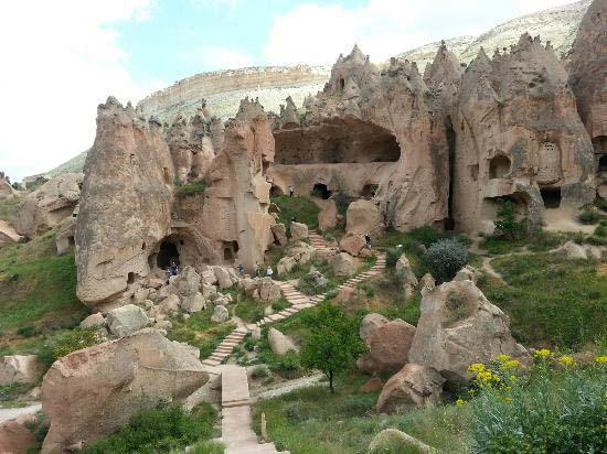 3.Cappadocia Cave Dwellings / Urgup, Turkey