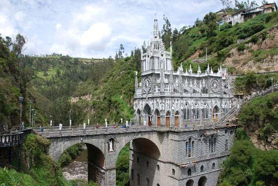 4.Las Lajas Sanctuary / Pasto, Colombia