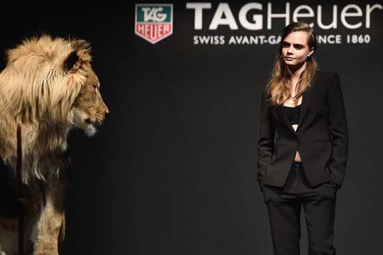 Cara Delevingne Is The New Tag Heuer Brand Ambassador