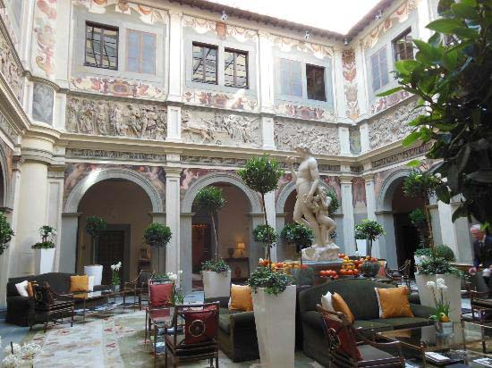 4. Four Seasons Hotel Firenze - Florence, Italy
