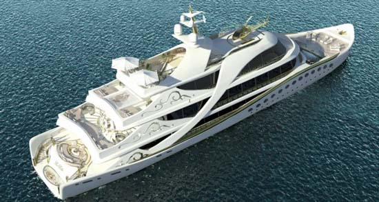 La-Belle-yacht-from-above
