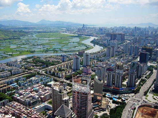 Shenzhen_CBD_and_River