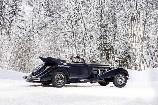 1938 Mercedes-Benz 540 K Cabriolet A Karosserie Sindelfingen Fahrgestell-Nr. 154076 Motor-Nr. 154076