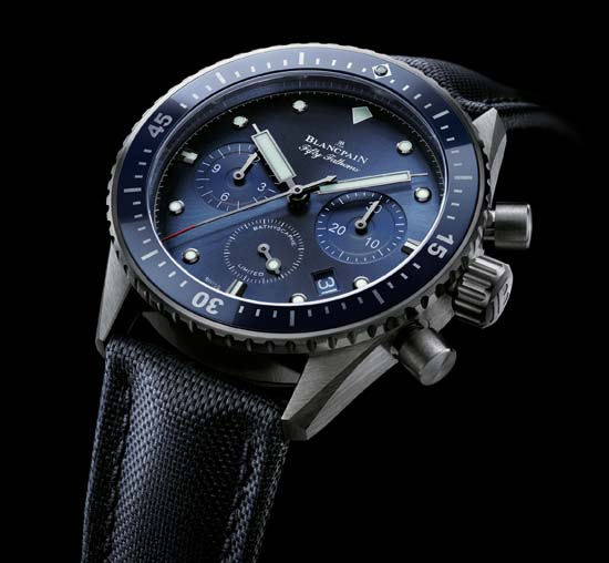 Blancpain Fifty Fathoms – Ocean Commitment Bathyscaphe Chronographe Flyback - Ref. 5200-0240-52A