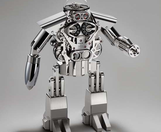 MB&F Introduces The Melchior a $35,000 Robot Clock