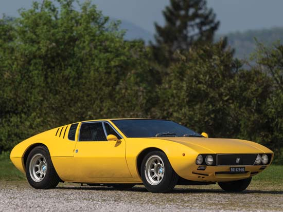 1968 De Tomaso Mangusta by Ghia Heading To Auction