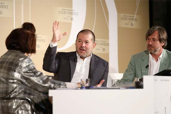Watch Jony Ive and Marc Newson talk about the Apple Watch