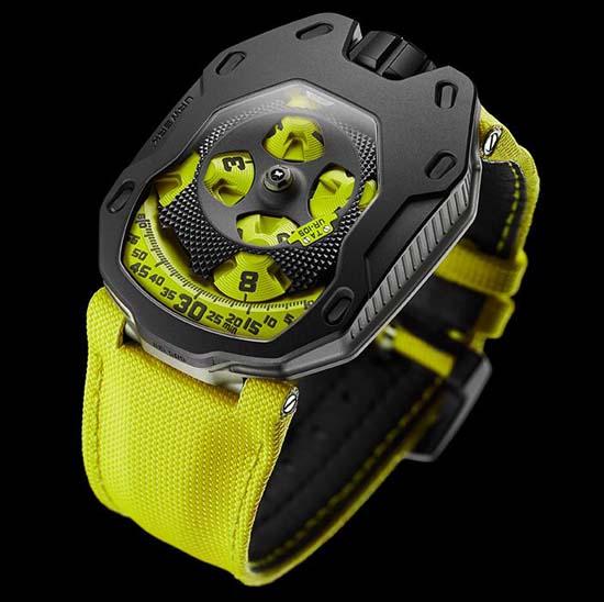 Urwerk UR-105TA Black Lemon