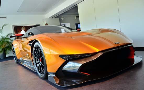 Aston Martin Vulcan In Orange Yes Please Luxuryes
