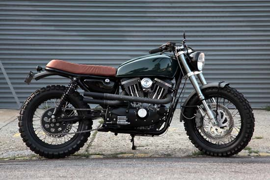 This Harley-Davidson Scrambler by VDB Moto Is Perfection