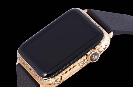 Caviar Unveils Custom Engraved Apple Watches
