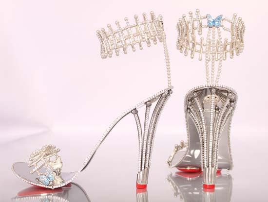 Beyoncé Buys $312,000 Diamond Heels