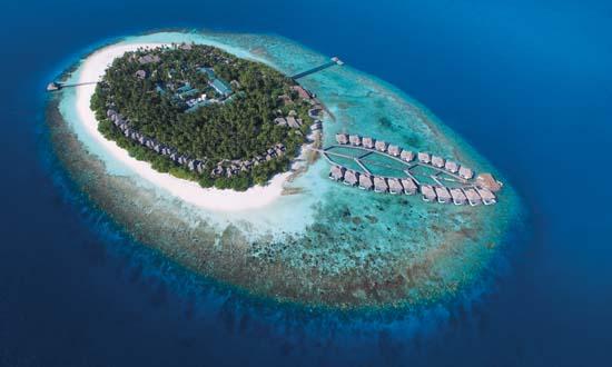 Outrigger-Konotta-Maldives-Resort-Aerial