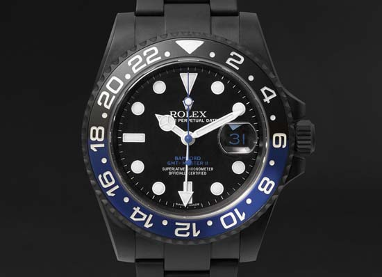 GMT Master II Titanium-Coated Watch $19,200