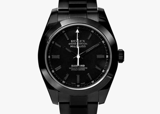 Milgauss Titanium-Coated Watch $19,200