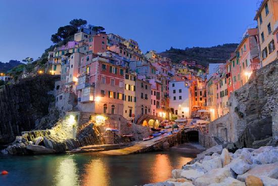 3. Riomaggiore - Cinque Terre, Italy