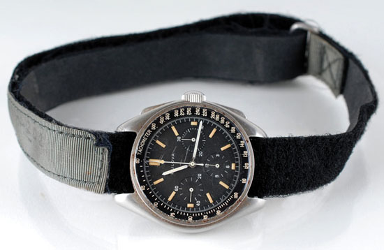 Bulova Worn On The Moon Sells For $1.6M