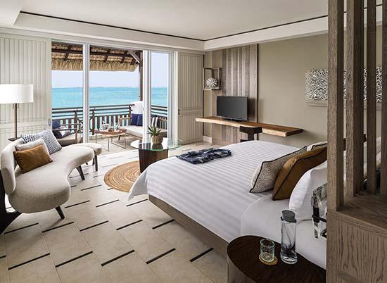 Shangri La Mauritius Frangipani Junior suite oceanview
