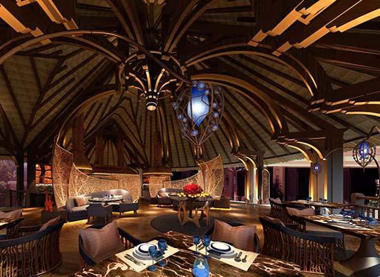 Shangri La Mauritius-Safran-Indian-Restaurant