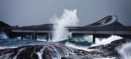 Atlantic Ocean Road Is One Of The Most Beautiful And Dangerous Roads In the World