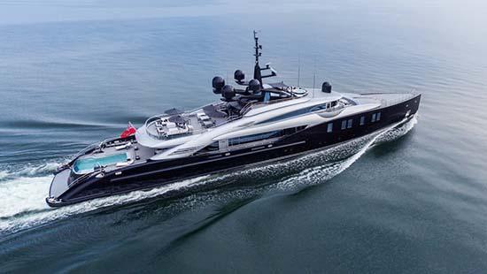 OKTO Luxury Yacht