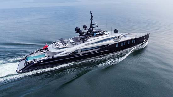 OKTO Luxury Yacht Is Absolutely Ravishing
