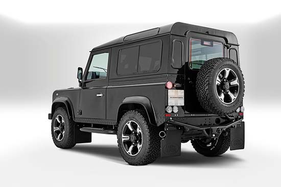 Defender 40th Anniversary by Overfinch back