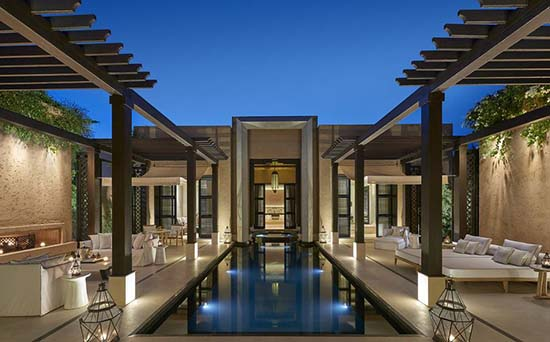 Mandarin-Oriental-Marrakech-pool-terrace
