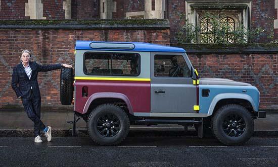 Paul Smith Bespoke Land Rover Defender