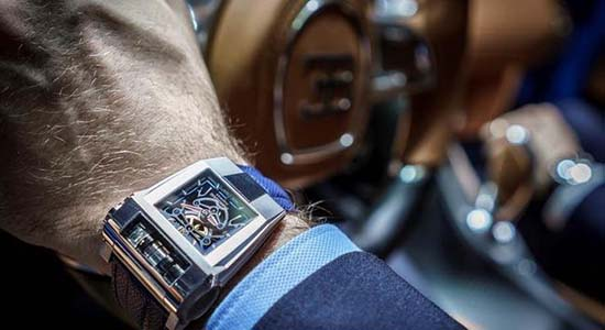 Parmigiani Fleurier x Bugatti 390 Concept Watch