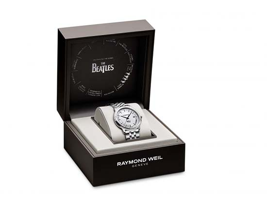 Raymond Weil Beatles Limited Edition watch box