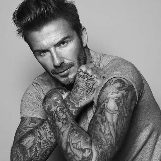 Biotherm Homme Ambassador David Beckham