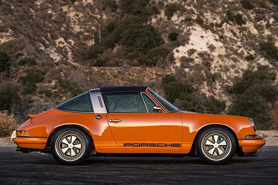 Porsche 911 Targa Luxembourg by Singer Vehicle Design • Luxuryes
