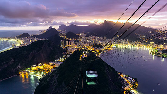 Timelapse of Rio