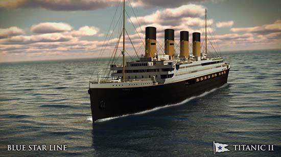 Titanic II Replica 01