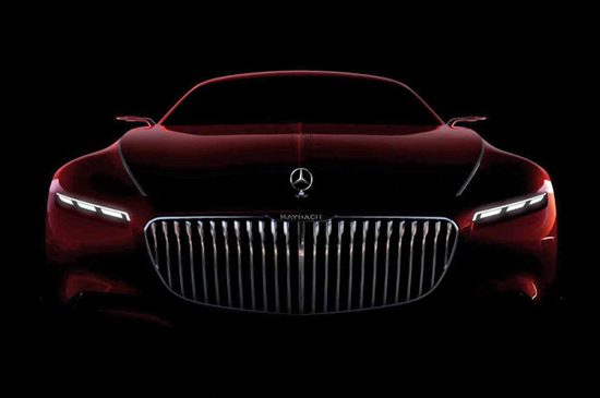 Vision Mercedes-Maybach 6 concept front