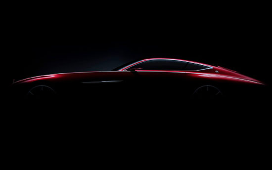 Vision Mercedes-Maybach 6 concept side view