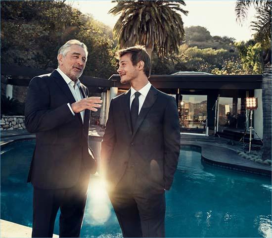 Robert De Niro & McCaul Lombardi