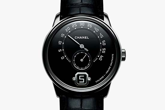 Monsieur de Chanel Platinum Black Watch is Absolutely Stunning