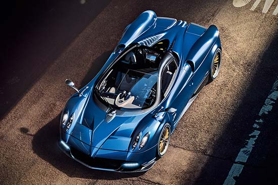 Pagani Huayra Roadster is Absolutely Jaw-Dropping