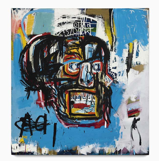 Jean-Michel Basquiat Untitled