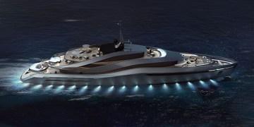 Aurea Yacht Concept by Pininfarina