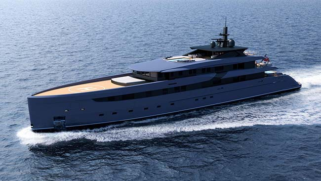 F65 Superyacht Concept by Marco Ferrari