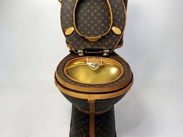 Louis Vuitton Toilet