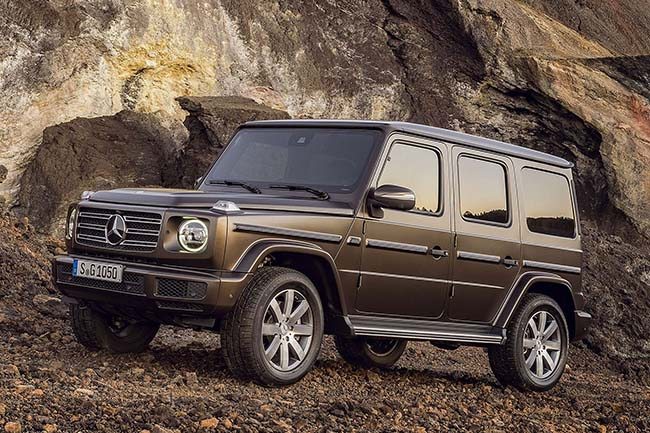 2019 mercedes benz g class is ready to challenge everyone for Mercedes benz boxy suv
