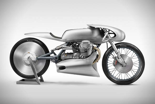 2018 Moto Guzzi Le Mans Mk Ii Airforce By Death Machines Of London