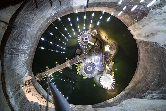 This Amusement Park Inside a Romanian Salt Mine Looks Spectacular