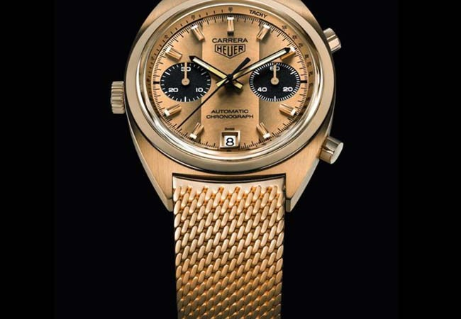 TAG Heuer Remakes the Ronnie Peterson Carrera Watch For Charity