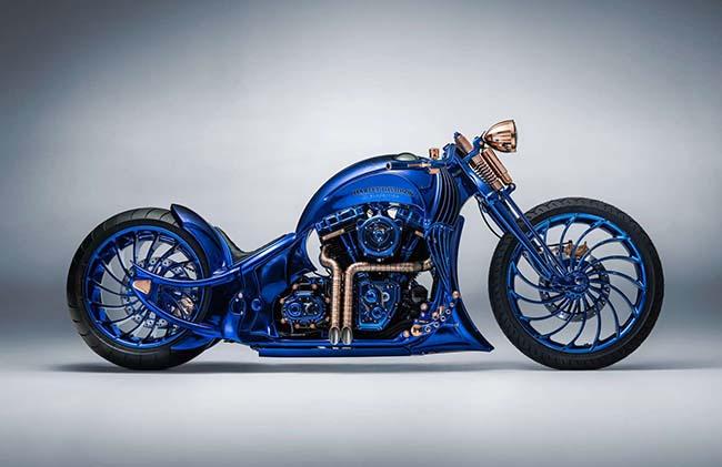 Bucherer Blue Edition Harley-Davidson